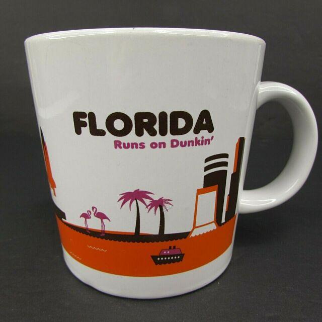 Dunkin Donuts Florida Runs On Dunkin Coffee Mug 2012 ...
