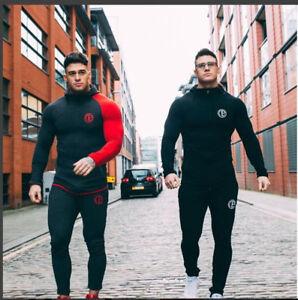 Men-039-s-Athletic-Bodybuilding-Casual-Sports-Jogger-Slim-Fit-Skinny-Sweatpants