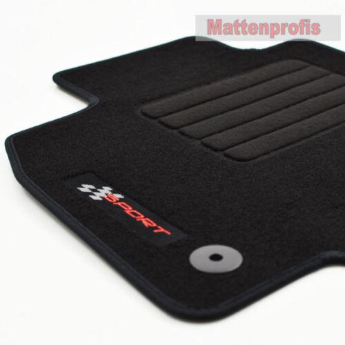 Mattenprofis Velours Logo Fußmatten für Seat Leon III 5F ab Bj.09//2012