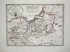 1789 Poland Preussen Königsberg Kaliningrad Litauen Lietuva Gdansk Torun Karte