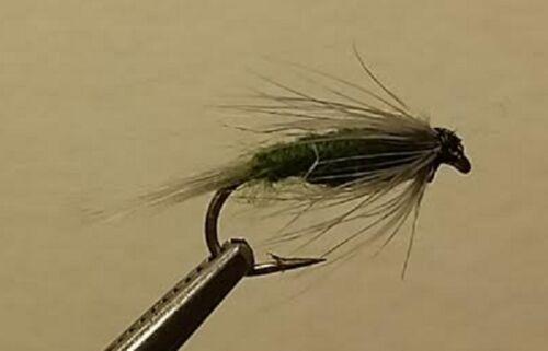 Wet Nymph Fly BWO Nymph Trout 1 Dozen