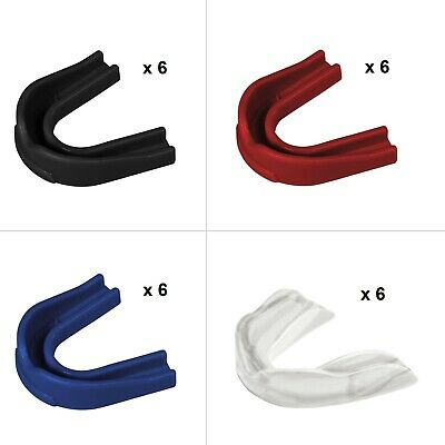Champro Boil-and-Bite Strapped Mouth Guard w// Lip Protector 12 Pack Youth Adult