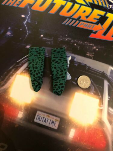 Hot Toys Back to the Future 2 Doc Brown Green Socks loose échelle 1//6th