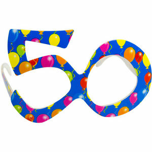 50TH-BIRTHDAY-BALLOON-AGE-SPECTACLES-PARTY-GLASSES-SPECS-BLUE