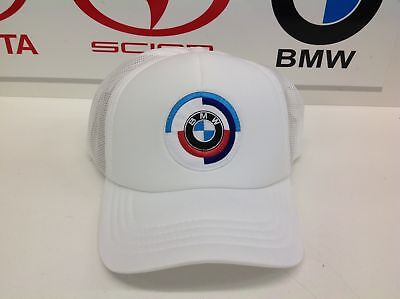 Genuine BMW Accessories Heritage Hat White 80162445950