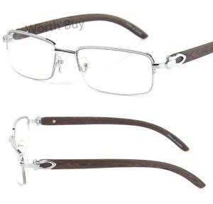New-Mens-Womens-Clear-Lens-Glasses-80s-Fashion-Vintage-Retro-Designer-Rx-Silver
