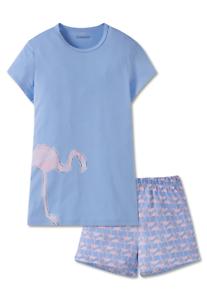 b28fdb05b773f5 Details zu Pyjama kurz XS S M L 140 152 164 176 SCHIESSER Mädchen  Schlafanzug kurz