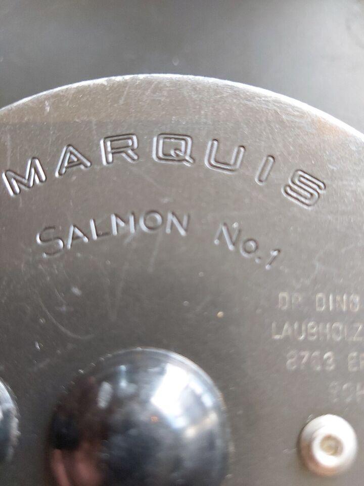 Fluehjul, HARDY MARQUIS Salmon No. 1