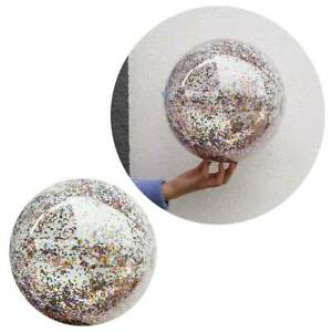 16inch-Inflatable-Beach-Ball-Clear-Sequin-Party-Swimming-Pool-Balls-for-Children