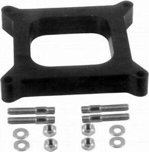 Open-Carb-Spacer-4150-4160-Holley-Carburetor-1-2-034-Phenolic-Studs-R9139