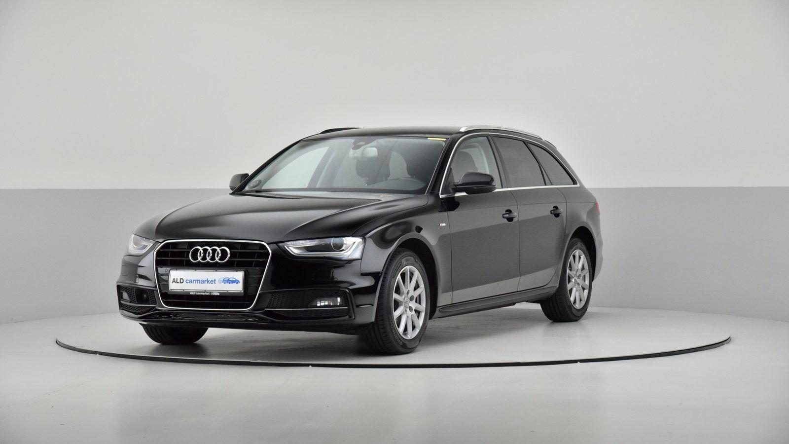 Audi A4 2,0 TDi 190 S-line Avant Multitr. 5d - 284.000 kr.