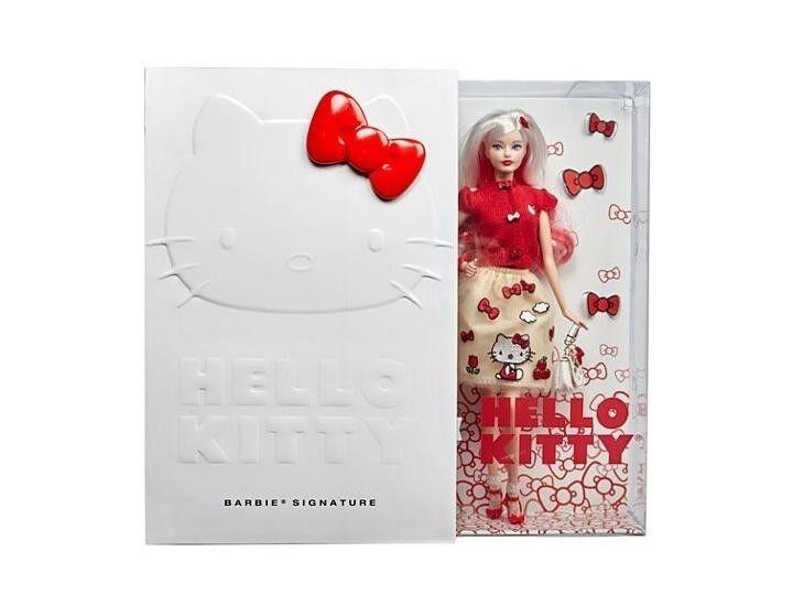 Barbie Hello Kitty Edición Limitada Coleccionable-Perfecto Estado