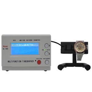 Weishi Timegrapher Mechanische Uhr Timing Machine Multifunktions No.1000