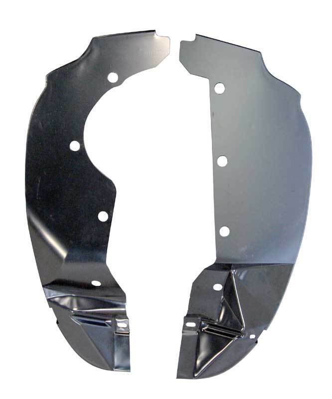 AMD PAIR 64 Plymouth B Body Rear Inner Fender Splash Shield Cover
