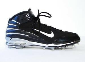 Image is loading Nike-Zoom-Assassin-Black-Dri-Fit-Cleats-Football-