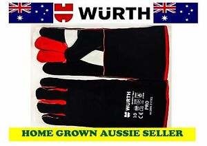 WURTH-PREMIUM-WELDING-GLOVES-LONG-COWSPLIT-KEVLAR-FULLY-LINED-CERTIFIED