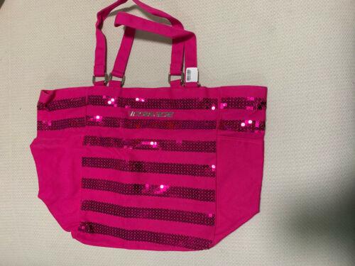 New Victoria's Secret Bling Weekender Tote Bag