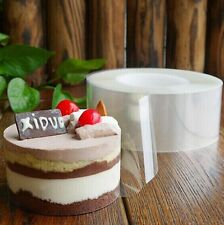 200M PVC Baking cake packaging transparent surrounding edge Mousse Wrapping Tape