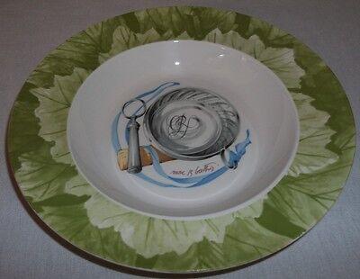 Villeroy & Boch CHATEAU CLARKE rimmed deep plate / soup bowl 23cm