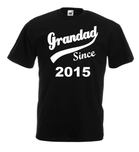 Grandad Since T Shirt Athlete Vest Any Year Father/'s Day Christmas Gift