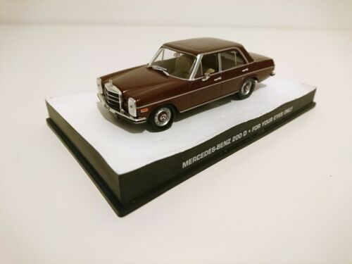 Mercedes Benz 200 D James Bond 007-1:43 Diecast Miniatur Modellauto DY122