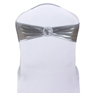 Fantastic Details About Chair Cover Bands Metallic Silver Lycra Spandex Wedding Party Events Party Decor Beatyapartments Chair Design Images Beatyapartmentscom