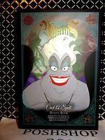 Disney Villains Ursula Cast A Spell Beauty Book Quick Shipping