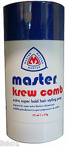 Master Krew Comb Stick Extra Super Hold Hair Styling Prep