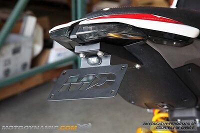 13-18 Hypermotard 821 939 Fender Eliminator Kit w// LED Plate Light
