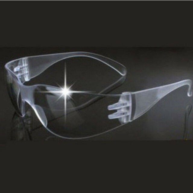 Clear Eye Protective Glasses Windproof Safety Medical Use Lab Safety Goggles