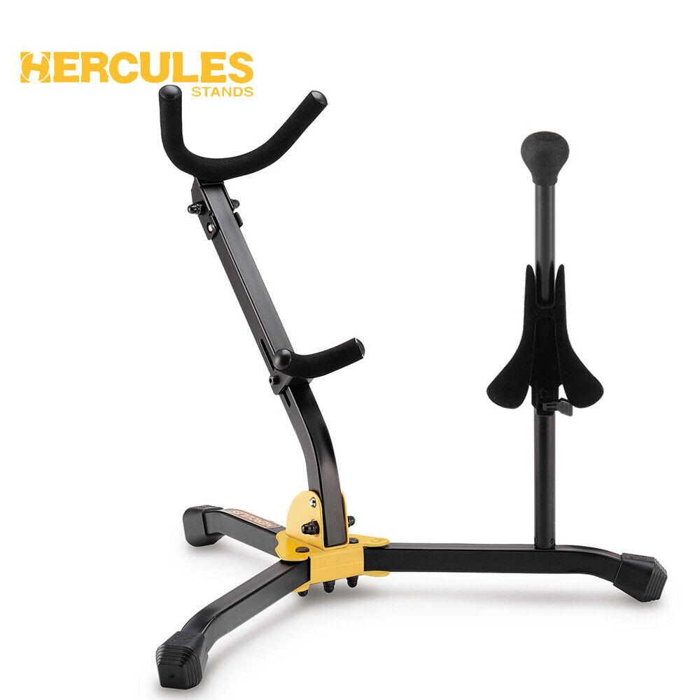 Nuevo Hercules Hercules Hercules DS533BB alto saxofón tenor y soprano Sax Compacto De Pie Con Bolsa  Compra calidad 100% autentica