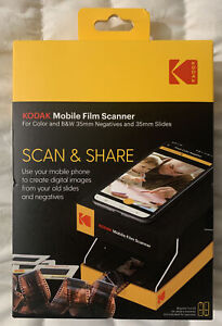 Kodak Mobile Film Scanner Scan & Share For 35mm Negatives & 35mm Slides Sealed