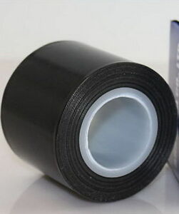 "Teflon Tape Black Heat Resistant Insulating Refractory Tape 1"" x 33feet 500℉"