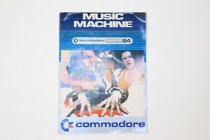 Vintage-Commodore-64-Computer-Video-Game-Anleitung-Handbuch-Musik-Maschine