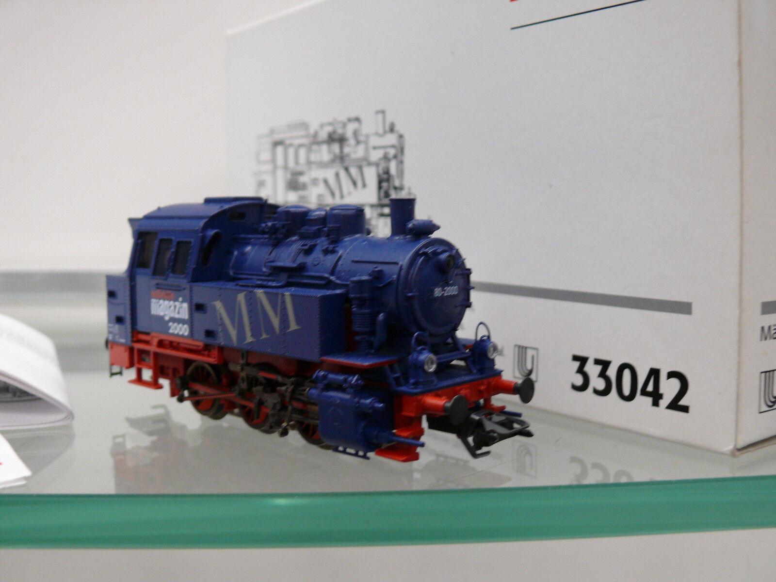 h0, N. 33042, Locomotiva BR 80 delle DB    rivista 2000  Delta/DIG.