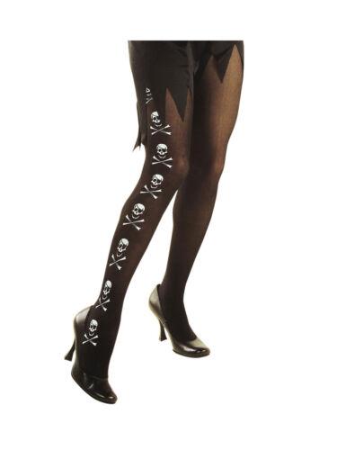 Strumpfhose schwarz Halloween