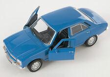 BLITZ VERSAND Peugeot 504 1975 blau / blue Welly Modell Auto 1:34 NEU & OVP