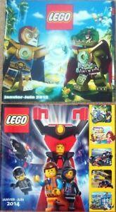 2 French Lego Catalogue Janvier-juin 2013 Et 2014-afficher Le Titre D'origine
