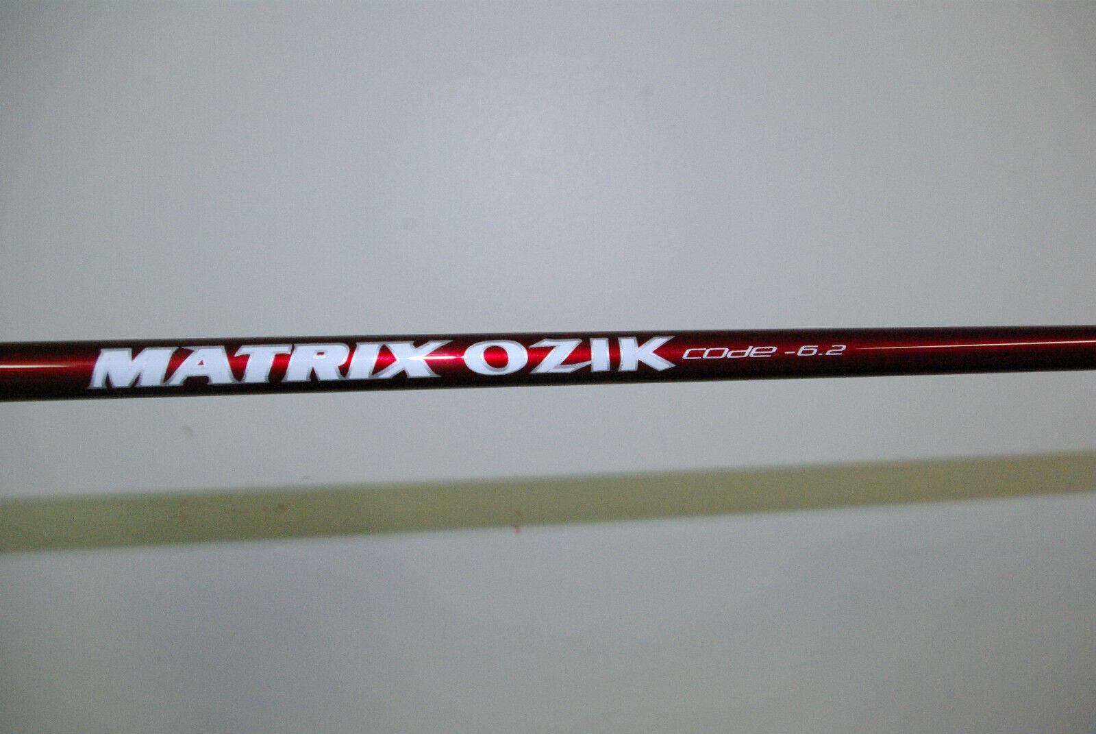 nouveau Matrix Ozik X-Con Code 6.2 STIFF w all Taylormade Sleeves R-15,SLDR,R-1,R-11
