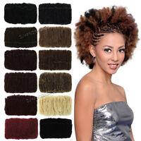 Bijoux Afro Kinky Bulk Synthetic Hair Braid Braiding Extension 20
