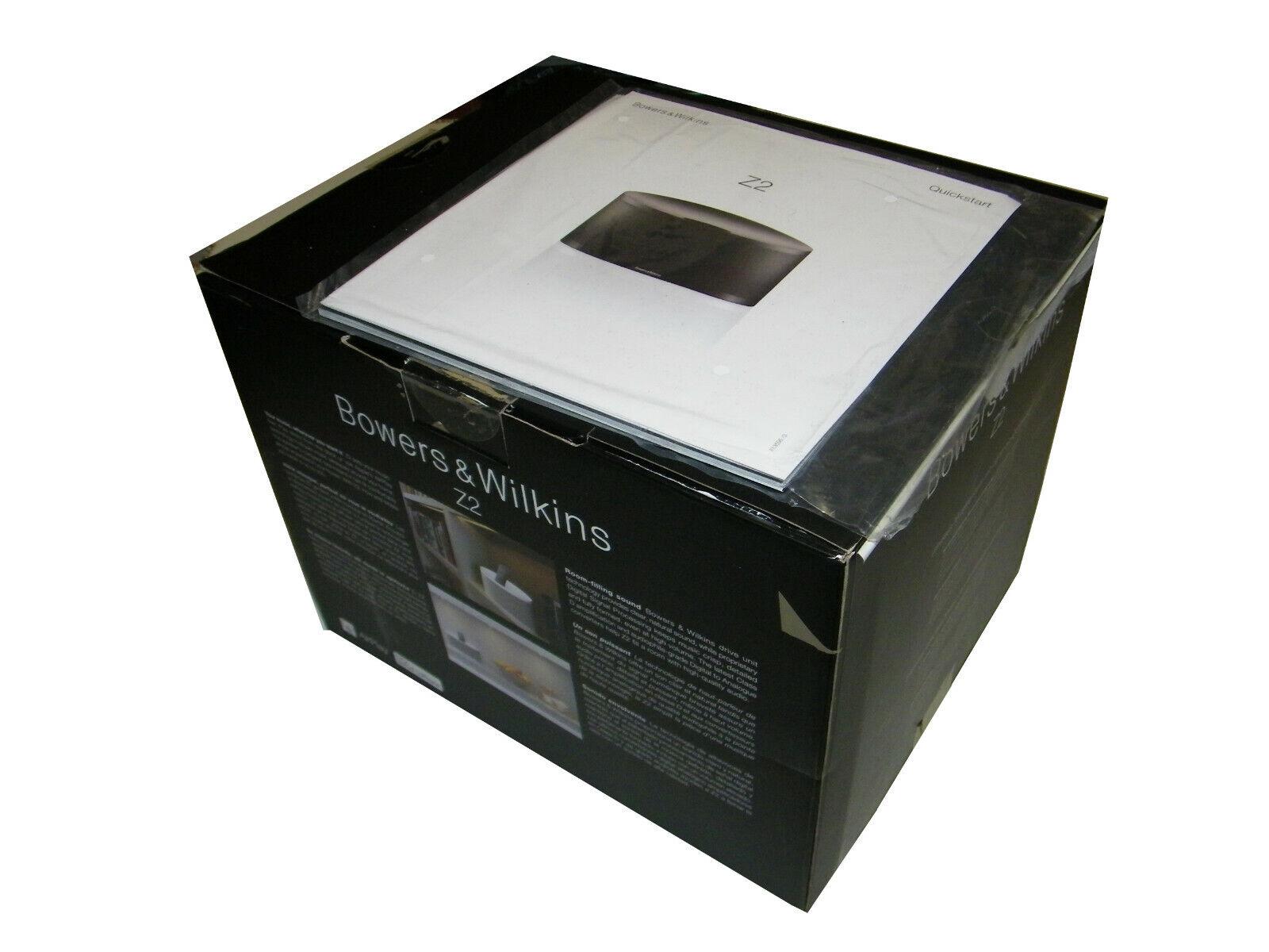 Bowers & Wilkins z2 White Box Speaker Good Condition 75