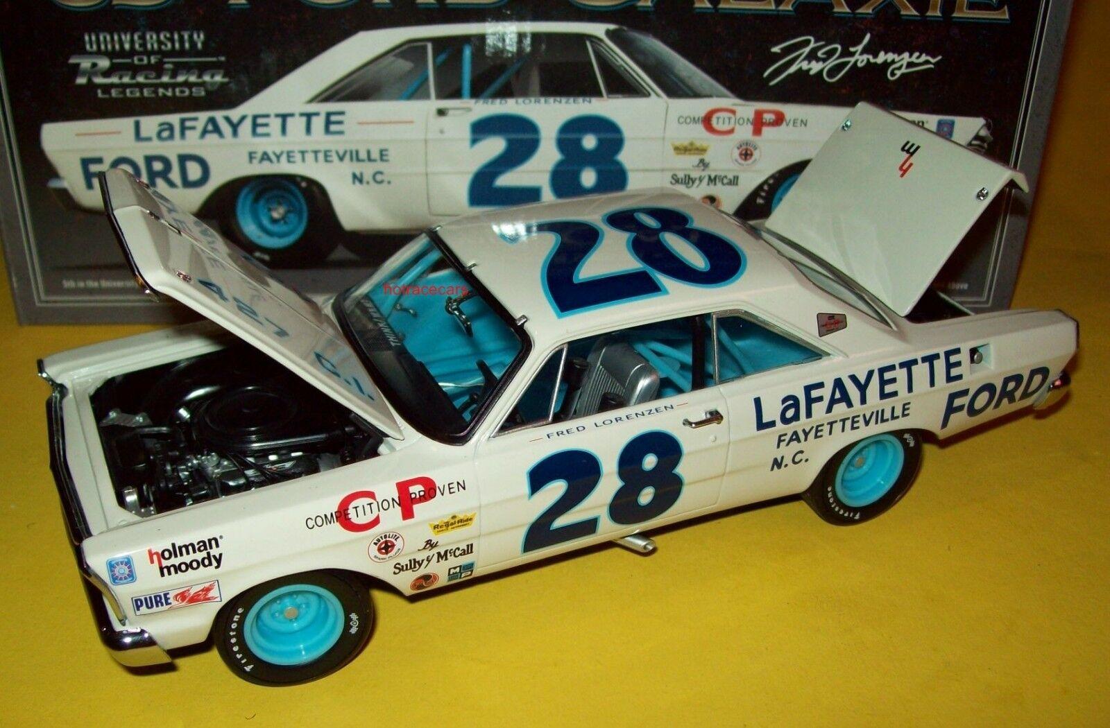 Frosso Lorenzen 1965 Lafayette Ford Galaxie 1 24 Nascar leyendas Holman Moody