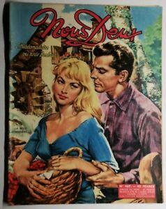 #138 Revue Hebdomadaire Nous Deux La belle lavandiere N 467 de 1956
