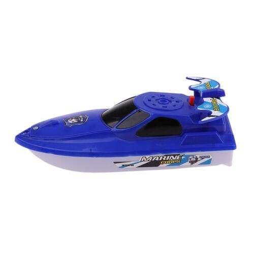 Jouet de bateau à moteur à piles pour piscine pour enfants en bas âge