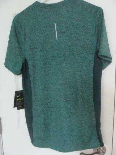 Men/'s Nike Cool Miler Short Sleeve Running Top Shirt 834241 370 Size S~2XL