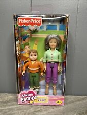 Fisher Price Loving Family Grandma Grandmother dollhouse figure 2006