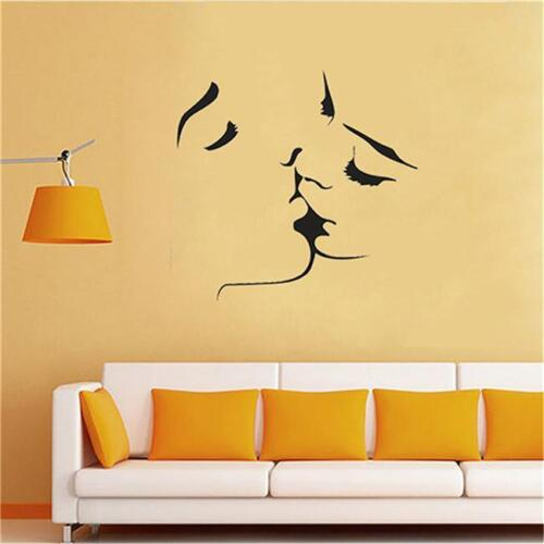 Wall Stickers Love Marriage Family Cool Couple Bedroom Art Decals Home Room J