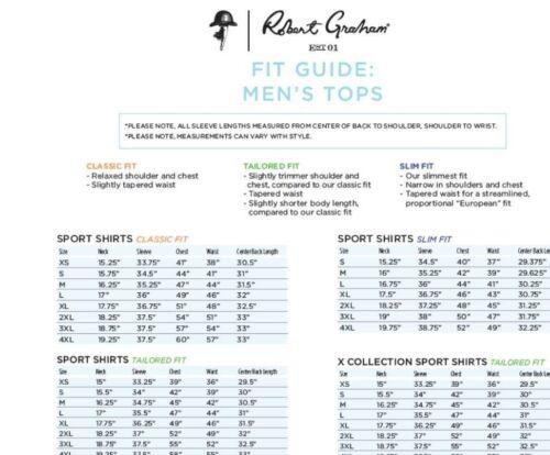 Robert Graham Cape Sim Classic Fit Print Sport Shirt NWT M LT