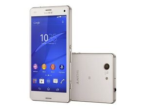 white 4 6 unlocked sony ericsson xperia z3 compact d5803. Black Bedroom Furniture Sets. Home Design Ideas