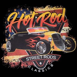 FORD ROADSTER HOT ROD T-SHIRT